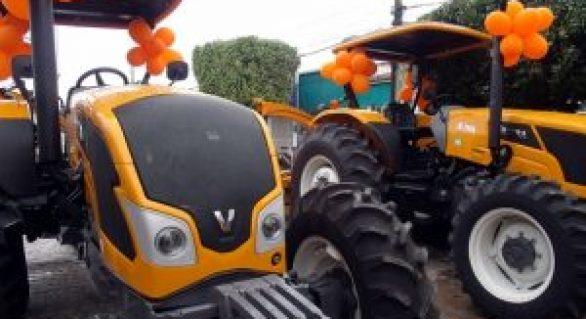 Equipamentos agrícolas são entregues ao município de Olivença