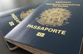 Lei que libera verba para emissão de passaporte é publicada no Diário Oficial