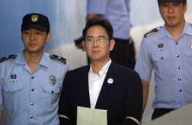 Herdeiro da Samsung é condenado a 5 anos de prisão por caso de corrupção