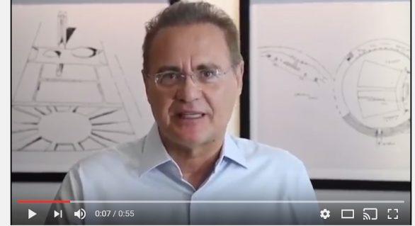 Vídeo: governo Temer continua a errar, diz Renan Calheiros