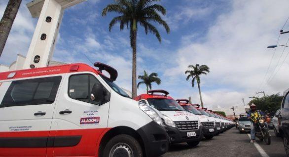 Governo investe R$ 3,8 milhões em 20 novas ambulâncias para o Samu