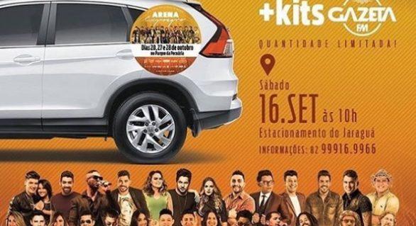 Mega Adesivaço da Arena Expoagro ocorre neste sábado (16)