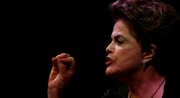 'Lula participará da eleição preso ou solto', diz Dilma na Finlândia