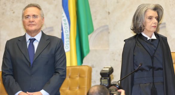 Renan acredita que Carmem Lúcia vai debelar crise entre poderes