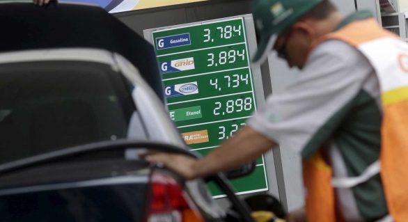 Petrobras anuncia alta no preço da gasolina e do diesel