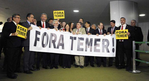 Oposição comemora estratégia adotada na votação de denúncia