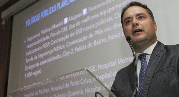 2018: Renan Filho confirma PDT na base governista