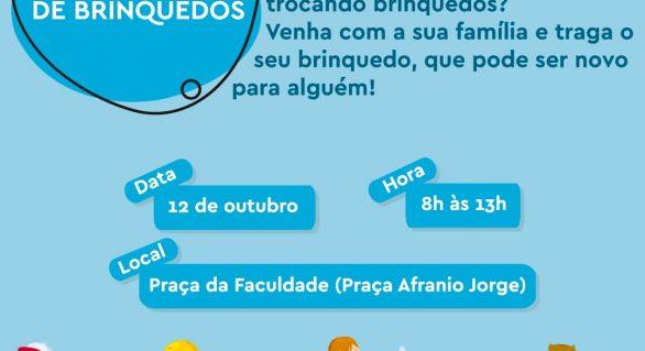 Dia das Crianças: Procon Maceió realiza Feira de Troca de Brinquedos