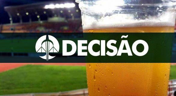 Justiça proíbe venda de bebidas alcoólicas nos estádios de Maceió