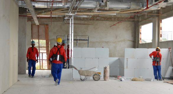 Obra do Hospital da Mulher avança e está 30% concluída