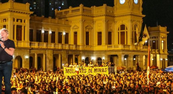 """Lula: """"vou devolver a democracia para o Brasil"""""""