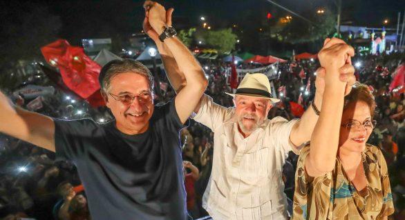 Lula encerra caravana hoje em Minas, com ato que terá Dilma e Pimentel
