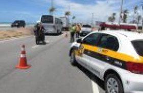 Eventos alteram o trânsito na orla de Maceió no domingo