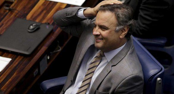 Órgão técnico do Senado recomenda arquivamento do caso de Aécio