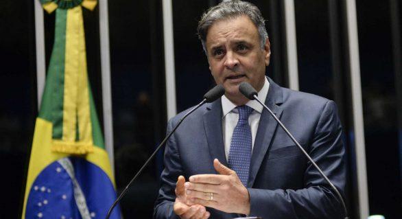 Moraes determina que Senado faça votação aberta para definir caso Aécio