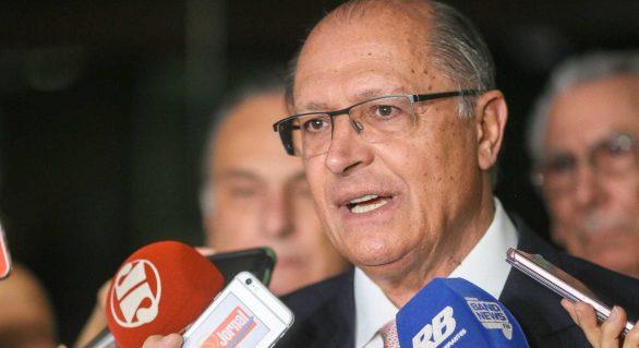 Alckmin diz que se prepara para concorrer à Presidência da República