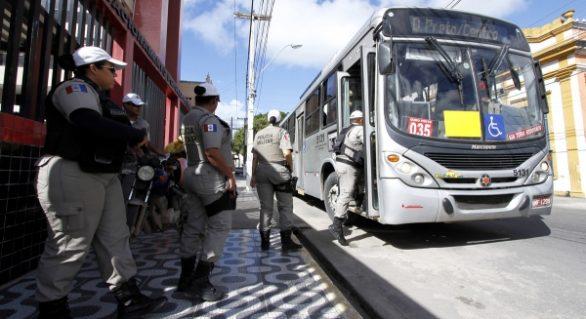Maceió tem queda de 55.9% no número de assaltos a ônibus