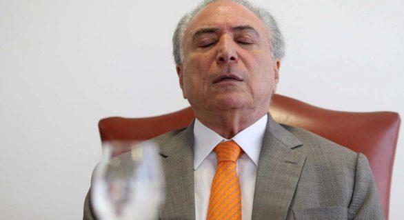 Novo levantamento confirma rejeição de 73% ao governo Temer