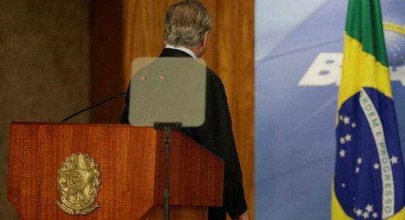 A um ano da eleição, PMDB é coadjuvante na campanha presidencial