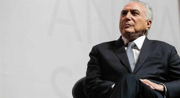 Presidente não fica irritado, diz Temer sobre críticas de FHC