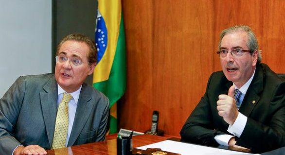 """Renan """"sugere"""" a Temer nomeação de Cunha no lugar de Marun para Articulação Política"""