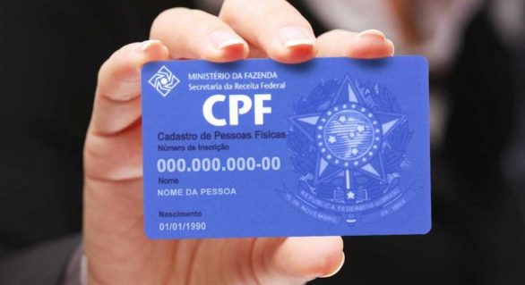 CPF poderá ser adotado como identificação nacional do cidadão