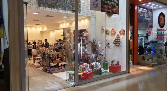 Pontos da Economia Solidária são opções de compras em Maceió