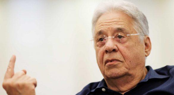 Em entrevista, FHC diz ter medo da direita e de Bolsonaro