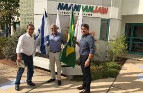 Presidente da Pindorama busca melhoramento de produção agrícola em missão técnica internacional