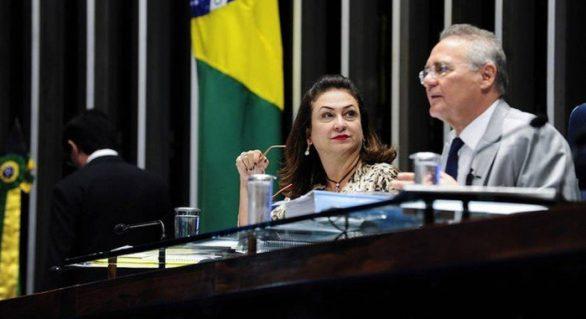 Renan condena expulsão da senadora Kátia Abreu
