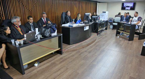 9ª Vara Criminal inicia júri de acusado de homicídio contra capitão da PM