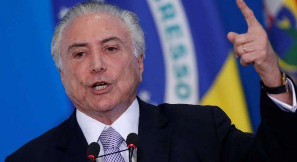Aprovação ao governo Temer oscila de 3% para 6%, indica Ibope