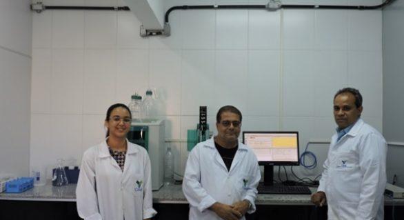 Casal é referência nacional em análises físico-químicas da água