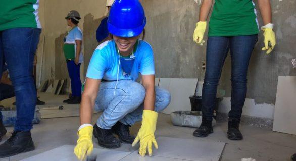 Construindo com Mulheres vai qualificar mais 200 alunas