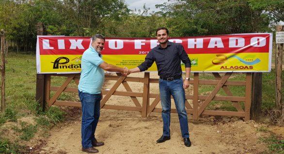 Semarh fecha o 47º lixão do Estado, desta vez no município de Pindoba