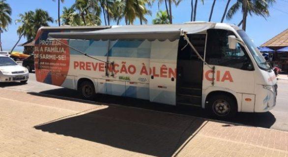 Campanha voluntária arrecada armas de fogo na Ponta Verde