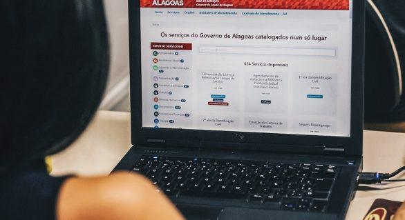 Alagoanos podem consultar informações sobre mais de 600 serviços do Estado