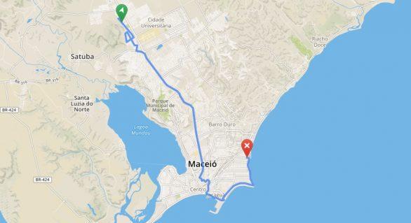 Itinerários de ônibus podem ser consultados no site da Prefeitura