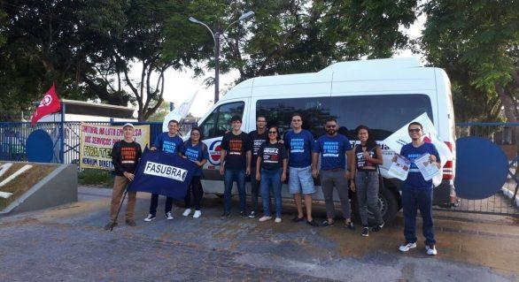 Técnicos da Ufal encerram greve com ato em frente ao campus de Maceió