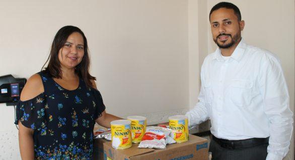 Hospital do Açúcar promove ação social em 3 lares de idosos em Maceió