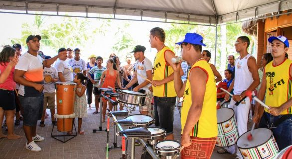 Praia Acessível na Folia promove prévia carnavalesca inclusiva