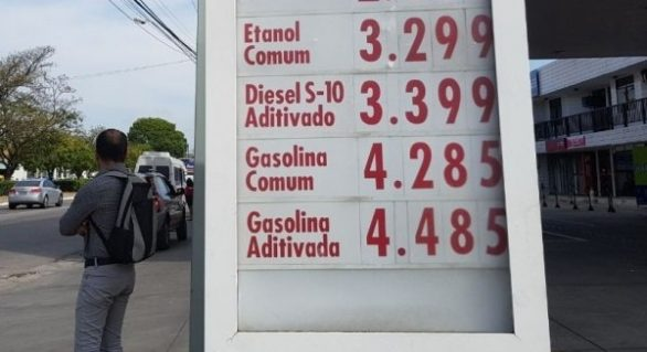 Preço da gasolina dispara em Maceió e assusta condutores