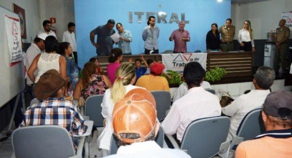 Iteral articula instituições para a discussão de ocupações rurais