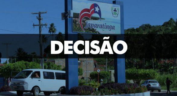 Justiça condena ex-prefeito de Japaratinga e agentes públicos por improbidade