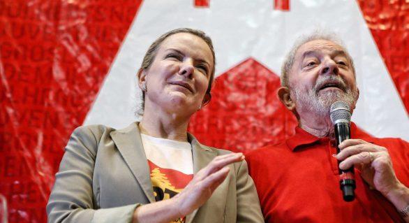 Partidos lançam frente em defesa da candidatura de Lula