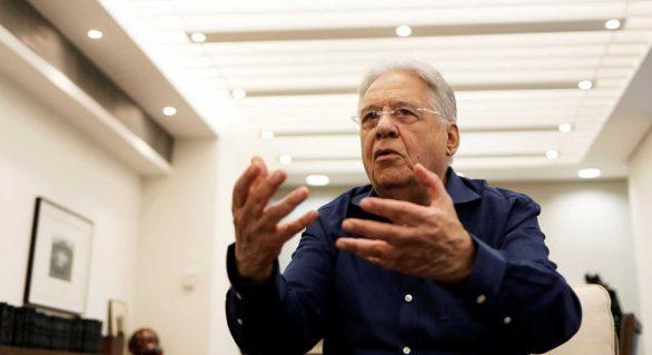'Quem for o candidato de mercado, vai perder', diz Fernando Henrique