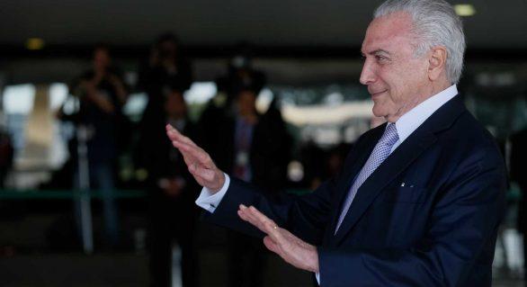 Candidatura à reeleição não é improvável, diz Michel Temer