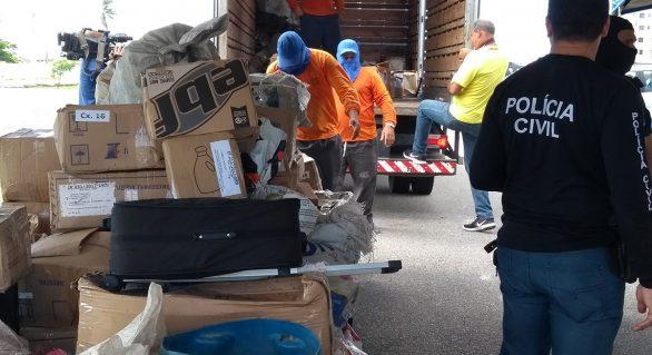 Secretaria de Segurança de AL incinera quase 3 toneladas de drogas