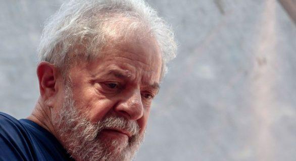 Família faz primeira visita a Lula na cadeia