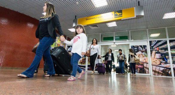 Fluxo de passageiros cresce quase 7% no 1º trimestre no Zumbi dos Palmares